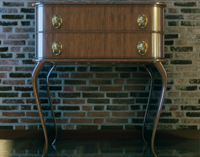 chest of drawers vintage 3D printable model