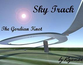 Sky Track - Pack 3D asset