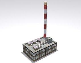 Refinery Set 3D asset
