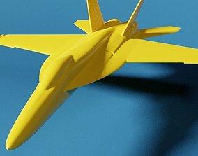 3D printable model F-18 Super Hornet - divided hornet
