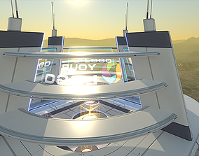 realtime PBR 3D Showroom Level Kit Vol 8