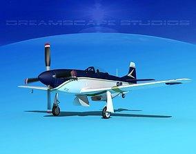 P-51 Mustang Sport V10 3D model
