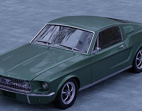 Ford Mustang Fastback 1967 3D model