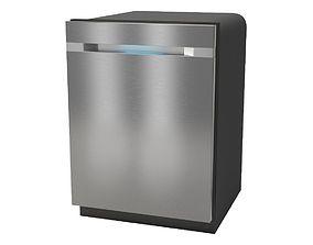 Built-in dishwasher Samsung DW80M9990UM 3D