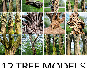 3D model 12 Tree collection Vol 2
