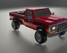 3D Ford F100 1979