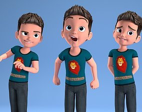 3D CARTOON CHILD - BOY RIGGED