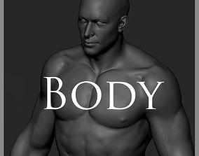 Body Zbrush 3D model