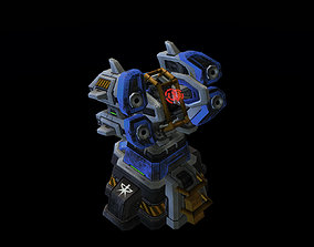 3D printable model Starcraft Missile Turret