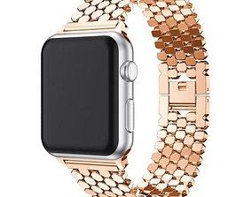 3D printable model Bracelet Iwatch Apple watch 9028