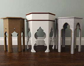 3D Moroccan Tables 2