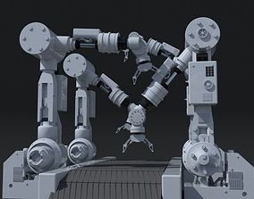 Robot arm 3D Models   CGTrader