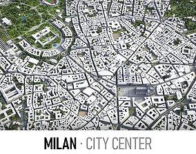Milan 3D model