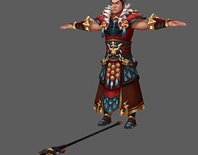 3D model Character game three kingdom