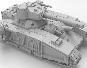 Imperial super-heavy tank 3D print model