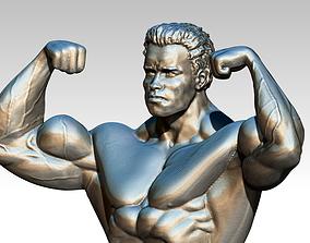 3D printable model Arnold statue