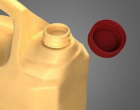 3D model Plastic Canister liquid
