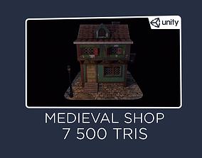 3D asset Blacksmith House - Medieval