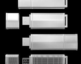 3D model storage USB Flash Drive