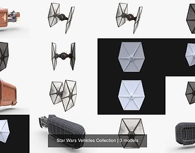 Star Wars Vehicles Collection 3D