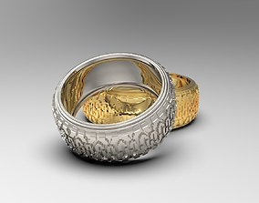 3D print model Rally tire rings with Dunlop pattern