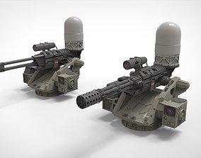 turret 4 3D model