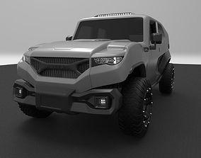 3D model Rezvani Tank 2017