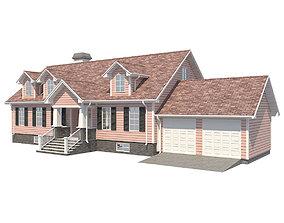 3D model Family House 4