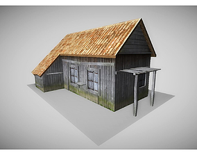 3D asset realtime old house