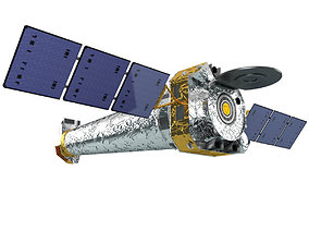 Satellite Chandra X-ray Observatory 3D model