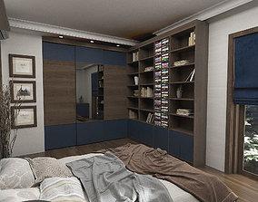 Teenage Room 3D Scene