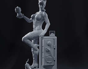 other Catwoman 3d print Model