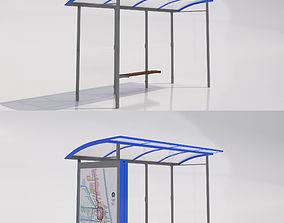 3D MMCite Skandum Bus Shelter Collection