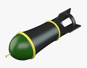 3D model Cartoon Bomb 02