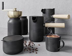 3D turk Coffee set