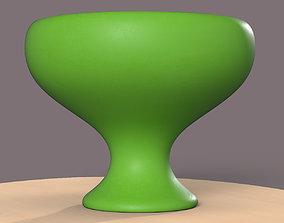 Pre-Hollowed Bowl 2 Plain 3D print model empty