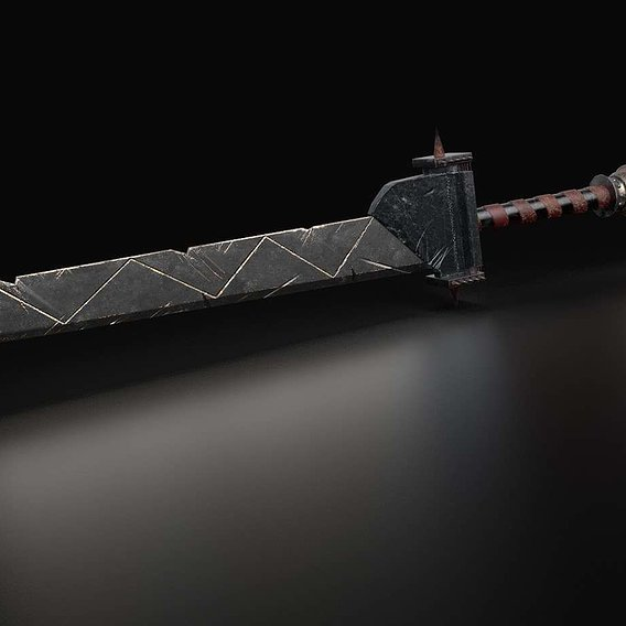 Spiked Sword