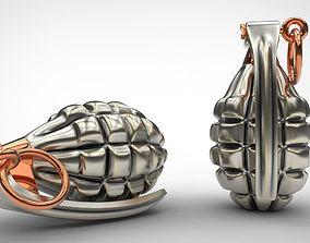 Grenade 3d print model weapon model for print stl 3dm