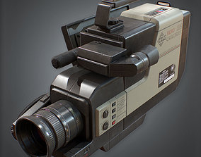3D asset 80s - Camcorder Video Recorder