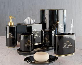 Kassatex Le Bain black 3D model
