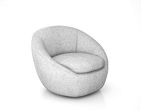 Cozy chair by West Elm 3D