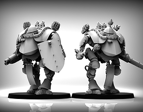 Feudal Guard Walker 3D print model