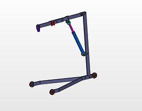 3D model Workshop mini Crane