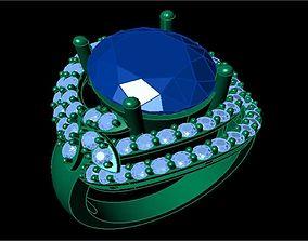 TJO 1 Diamond Ring 3D printable model