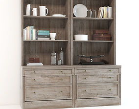 Pottery Barn Livingston Wall Suite 3D