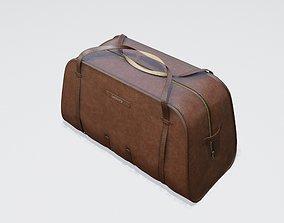3D asset sports leather bag