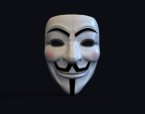 3D printable model Guy Fawkes Mask