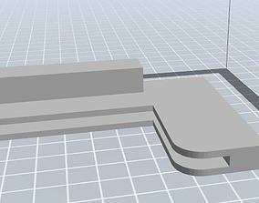 3D printable model Fridge ledge holder