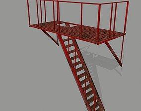3D model realtime Fire Escape