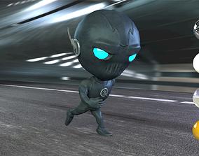 3D model Zoom Chibi Character